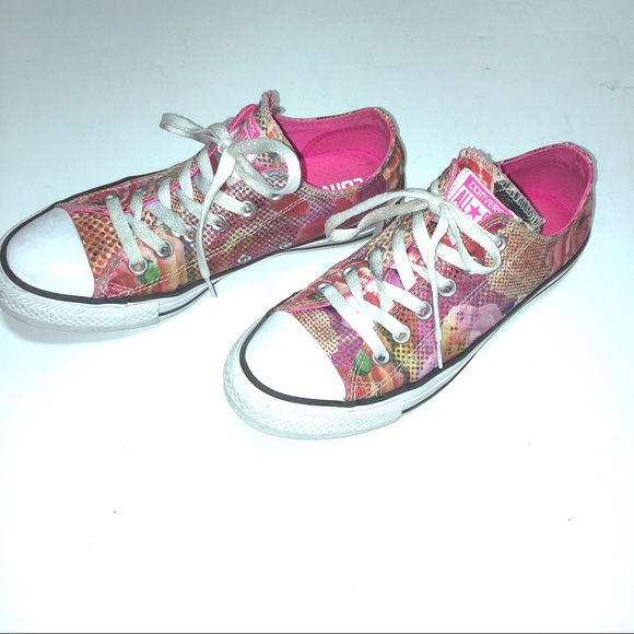 4b0f77c61977 Converse Shoes - Converse Chuck Taylor All Star Floral Sneakers Sz7
